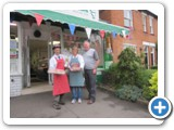 Meadow Farm Butchers were awarded the runners up prize in the BGRA Jubilee competition.  (c) Barnt Green Residents Association
