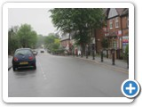 General view of the shopping area Hewell Road, Jubilee weekend. (c) Barnt Green Residents Association